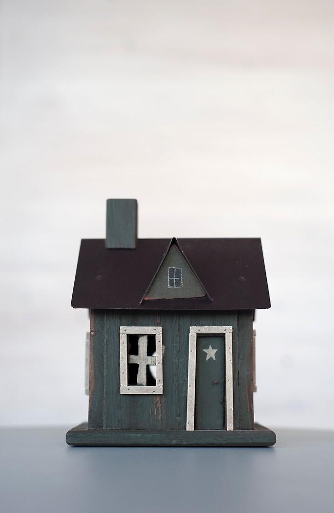 Woodman's Cabin 1 by Flo Smith