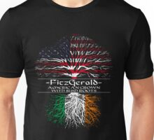 Fitzgerald - American Grown with Irish Roots Unisex T-Shirt