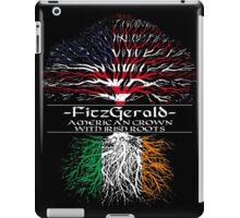 Fitzgerald - American Grown with Irish Roots iPad Case/Skin