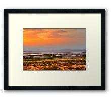 Albert Lake Sunset Framed Print