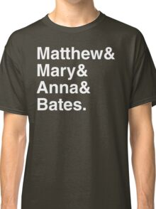 Upstairs and Downstairs Romance Shirt Classic T-Shirt