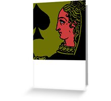 Spades Greeting Card