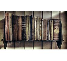 """Ol' Bookshelf"" Photographic Print"