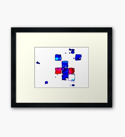 What you see is what you get Framed Print