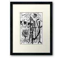 067 Framed Print