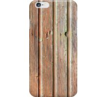 Old barn wall texture iPhone Case/Skin