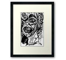 068 Framed Print