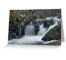Dartmoor: The River Taw Greeting Card