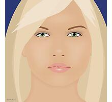 The Blond Returns Photographic Print