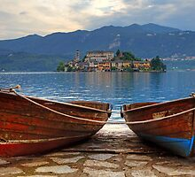Island of San Giulio by Joana Kruse
