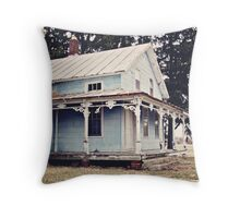 The Abandoned Dollhouse {3} Throw Pillow