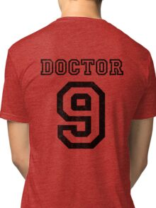 DOCTOR WHO 9th Tri-blend T-Shirt