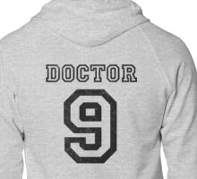 DOCTOR WHO 9th Zipped Hoodie