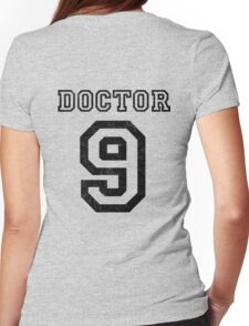DOCTOR WHO 9th Womens Fitted T-Shirt