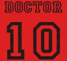 DOCTOR WHO 10th Kids Tee