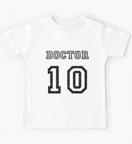 DOCTOR WHO 10th Kids Tee