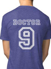 DOCTOR WHO 9th Tri-blend T-Shirt