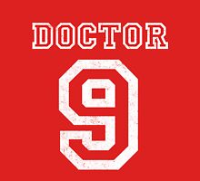 DOCTOR WHO 9th Mens V-Neck T-Shirt