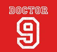 DOCTOR WHO 9th Mens V-Neck T-Shirt