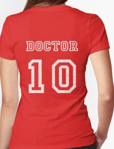 DOCTOR WHO 10th Womens Fitted T-Shirt