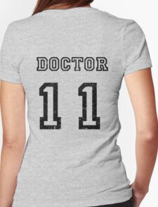 DOCTOR WHO 11th Womens Fitted T-Shirt