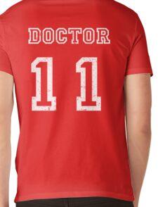DOCTOR WHO 11th Mens V-Neck T-Shirt