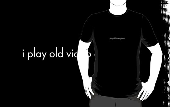 i play old video games by MuethBooth