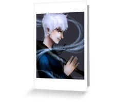 Jack Frost Greeting Card