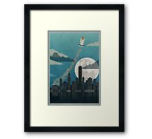 Rocket City Framed Print