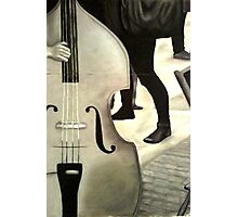 Double Bass Photographic Print