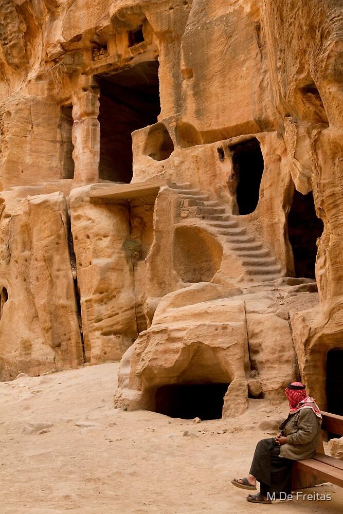 Little Petra,Jordan by Miguel De Freitas