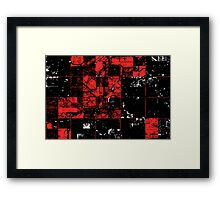 Blockwise // A New Error Framed Print