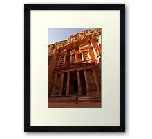 Petra,Jordan Framed Print