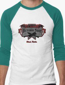 Bay Harbor Butcher Shop- Dexter Men's Baseball ¾ T-Shirt