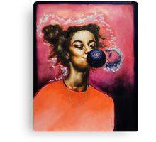Bubblegum Galaxy Canvas Print