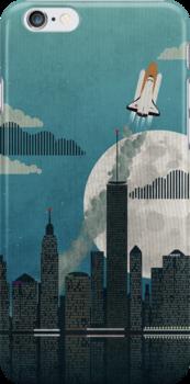 Rocket City by Wyattdesign