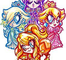 Chibi Nintendo Girls by Penelope Barbalios