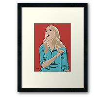 Grace Helbig Portrait Framed Print
