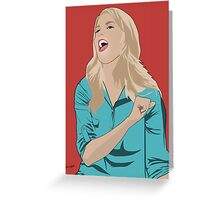 Grace Helbig Portrait Greeting Card
