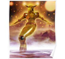 Golden Robot Poster