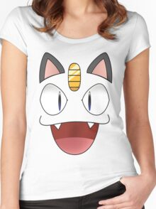 Meow Women's Fitted Scoop T-Shirt
