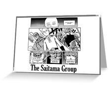 The Saitama Group Greeting Card