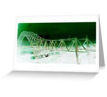 Runcorn Bridge  Greeting Card