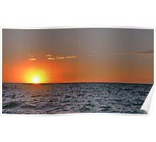 Sunset in Devon Poster