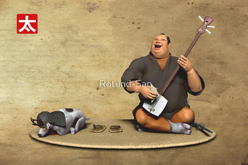 The Singing Samurai by Rotund-San