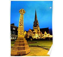 Church Of Scotland, Helensburgh, Scotland. Poster