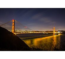 Golden Gate Night LE Photographic Print