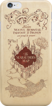 The Marauder's Map by trilac