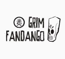 Grim Fandango (Black) by Mel Preston