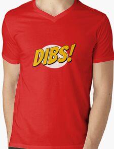DIBS! Mens V-Neck T-Shirt